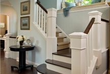 Painted woodwork-stairs / by Beverly Ondera