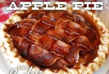 Completely Ridiculous Bacon Recipes / by Karen Goss