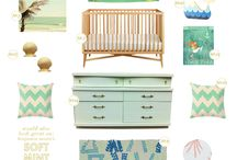 Nursery Design Inspiration / Nurseries are one room you can truly let your imagination run wild. Make an amazing, inspiring space where your baby can sleep, play and thrive! / by Cloud b