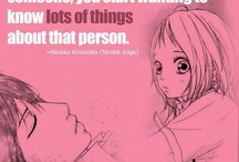 Anime Quotes / by Stephanieee❤
