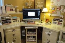 Chic n Scratch Studio / This is my Chic n Scratch Studio where I blog, teach papercrafting, film videos and run  my Stampin Up Business / by Chic n Scratch