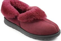 Slippers for slumber time  / Our beautiful slippers will keep your feet toasty warm.  / by Hotter