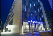 abba Berlin Hotel**** - Hotel in Berlin / 216 Rooms. Meeting rooms for up to 500 people. Piano - Coffee Bar, Restaurant,  Gym, Jacuzzi, Sauna, TFT Screen televisions in rooms and Garage. Situated in the city centre alongside Kurfürsterdamm avenue and the KaDeWe department store, very near to the Brandenburg Gate and Strasse des 17. Juni (17 June avenue).  / by Abba Hoteles