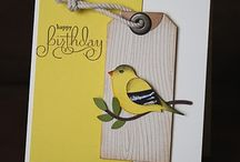 2- step bird punch cards / by Liza Murphy