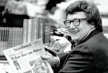 Roger Ebert / by H.J. Stecker Galea