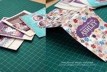 Mini Matchbook Album Ideas / by ThePlaidBarn