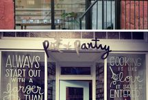 My Dream Cafe / Someday, I want to have my own cafe. this board is full of awesomeness inspiring pins for me. :) / by Cici Nugrahanti