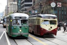 street cars and trollies / by Jim Miller