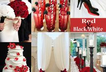 Wedding Ideas ~ black/White & Red / by Jo Makepeace