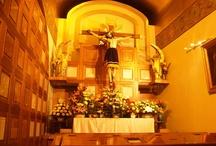 Dios, la Virgen María y los santos de mi devoción! / by Laura Ordaz Orellana