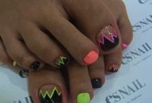 Cute nail ideas! / by Courtney Hillis