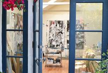Art Studio / My future Art Studio. Inspiration & ideas I like.  / by Heather Carlson