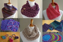 Cowls, scarves, and shawls / by Andrea C
