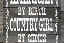 You Can't Take The Honky Tonk Out Of The Girl / by Krystal