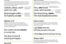 Grammar Nazi/For the Love of English / by Elizabeth Britt