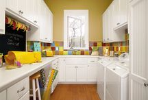 Decor - Home - Laundry Rooms / by Kristin Rasmussen Barry