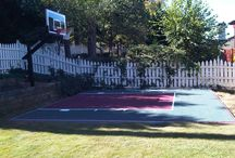 Home Basketball Court / by Ingrid Cordak