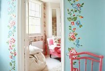 {Home Decor} / Examples of colors and interior design ideas that peak my interest.  / by Floral Palate