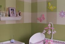 Baby rooms - Intermixed green/pink / by Sarah Deitz