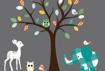 Nursery Ideas / by Halee Speldrich