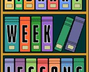 LM Lesson Ideas / Teaching Ideas in the Library Media Center / by Tammy Sczepanski