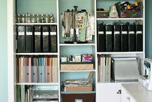 CSI - Bookshelves / by www.CraftStorageIdeas.com