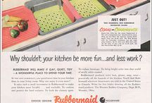 Vintage Rubbermaid / A showcase of anything vintage Rubbermaid. Advertising, TV commercials, products and more / by Rubbermaid