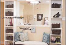 Mud Room Ideas / by Cyndi Rogers