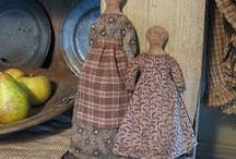 Primitive dolls / by Tammy Fraker
