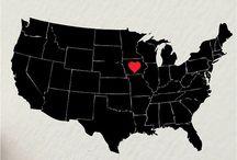 Iowa - Where The Heart Is / by Melissa Blake