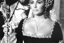 Elizabeth Taylor and her jewelry / Loved her and her jewelry.   / by Stephanie Perry