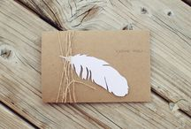 Cards - Feathers Dreamcatcher / by Barbed Wire