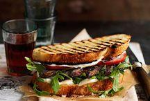 Sandwiches / by Joan Schmitt