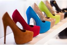 If the shoe fits....buy it in every color! / by Valerie Novelo