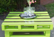 Pallet ideas / by Casee Crystal