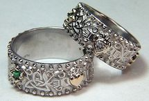 Rings / Rings tell stories, true and invented.  I love to hear them all. / by Sue Thompson