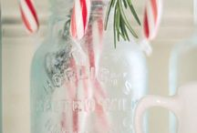 Candy cane and old fashion christmas / by Felicia Scurlock
