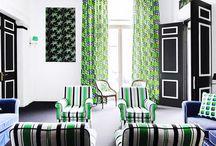 Bright Interiors / by Caroline Blood