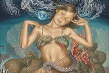 Mermaids / Mermaids I love  / by Mary Costello