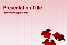 Love PowerPoint Templates / Download free Love PowerPoint templates and backgrounds to use in St. Valentine's Day. Share love with free PowerPoint templates featuring heart, love quotes, romantic pictures and other love images in PowerPoint presentations. / by Free PowerPoint Templates
