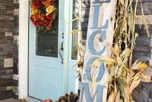 Holiday front porch / by Dianna Hall