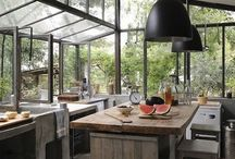 Inspiring Kitchens / I've always dreamt of having the ultimate kitchen. I love getting inspired by amazing spaces, interiors, objects and utensils for the obsessed cook like me.  / by Eat Drink Paleo