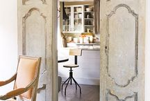 salvaged doors / by Jan Frazier
