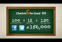 Social Media Infographics / by Check-in for Good