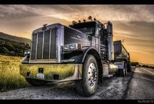 Tractor Trailer Trucks... / by Marrian Booska