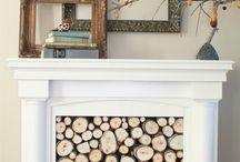 Fireplace Idea's... / by Lynnette Rathel