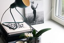 Vignettes + Details / Tidbits and quiet corners of beautiful interiors.  / by [ KAY ]