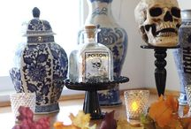 Fall and Halloween decorating / by Lisa Cockroft Boone