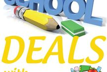 Back to School Deals / by Denise Sachs