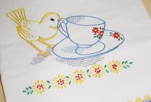 Embroidery & X-Stitch / by Amy Maciel